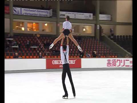 Pairs SP, Olympic Qualifying Event - Nebelhorn Trophy 2013