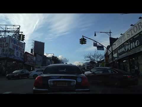 Driving from Belmont to University Heights Bronx,New York
