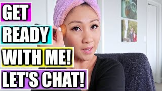 Chatty Get Ready With Me: Tarte, Profusion Cosmetics, Honest Beauty, Bite Beauty, Nars