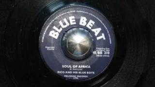 Rico and His Blue Boys / Soul of Africa