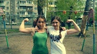 Street Workout Girls - выступление девушек (Красноярск) | девушки воркаут - трюки на турнике