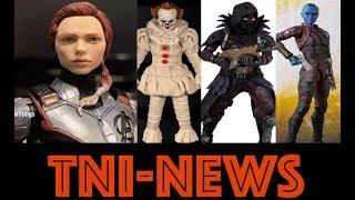 TNINews: S.H. Figuarts Nebula, Avengers Endgame Target 2-Pack DPCI, Fortnite, ReadySetz & More