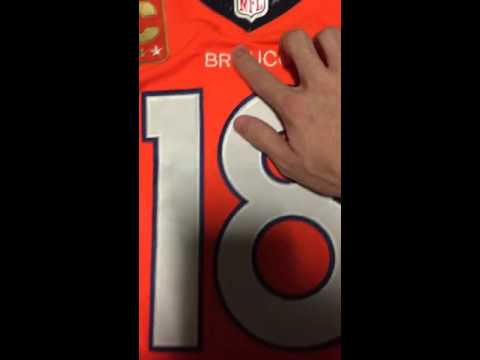 Mary Jersey Super Bowl Peyton Manning jersey review