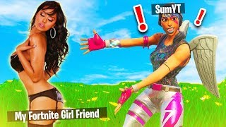 Fortnite Crush REACTS to my RECON EXPERT SKIN.. (Dirty Reaction)