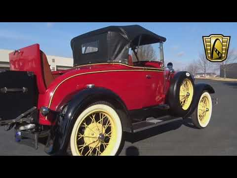 1929 Ford Model A Roadster Stock #7620 Gateway Classic Cars St. Louis Showroom