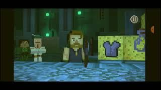minecraft story mode season two/capitulo #5/peleando con gigantes de prismarina