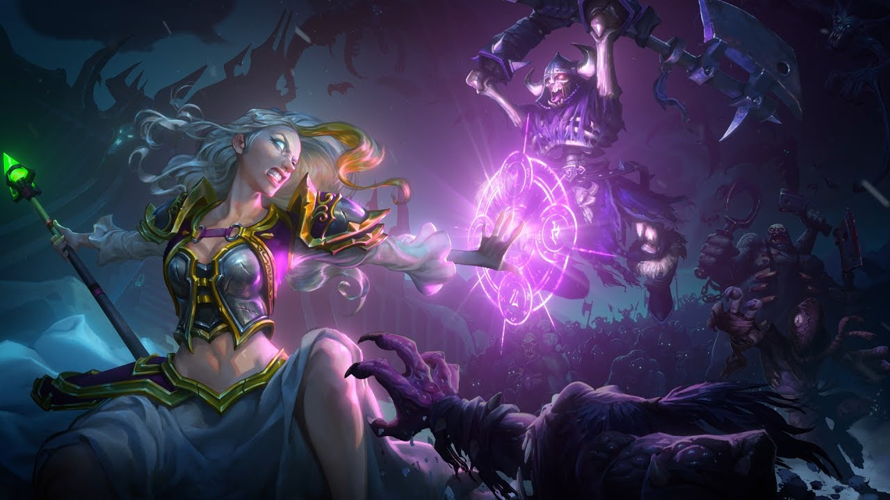 Knights Of The Frozen Throne Wallpaper: Hearthstone: Knights Of The Frozen Throne Trailer
