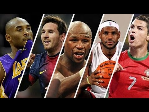 Top 10 Des Sportifs Les Plus Riches Du Monde Youtube
