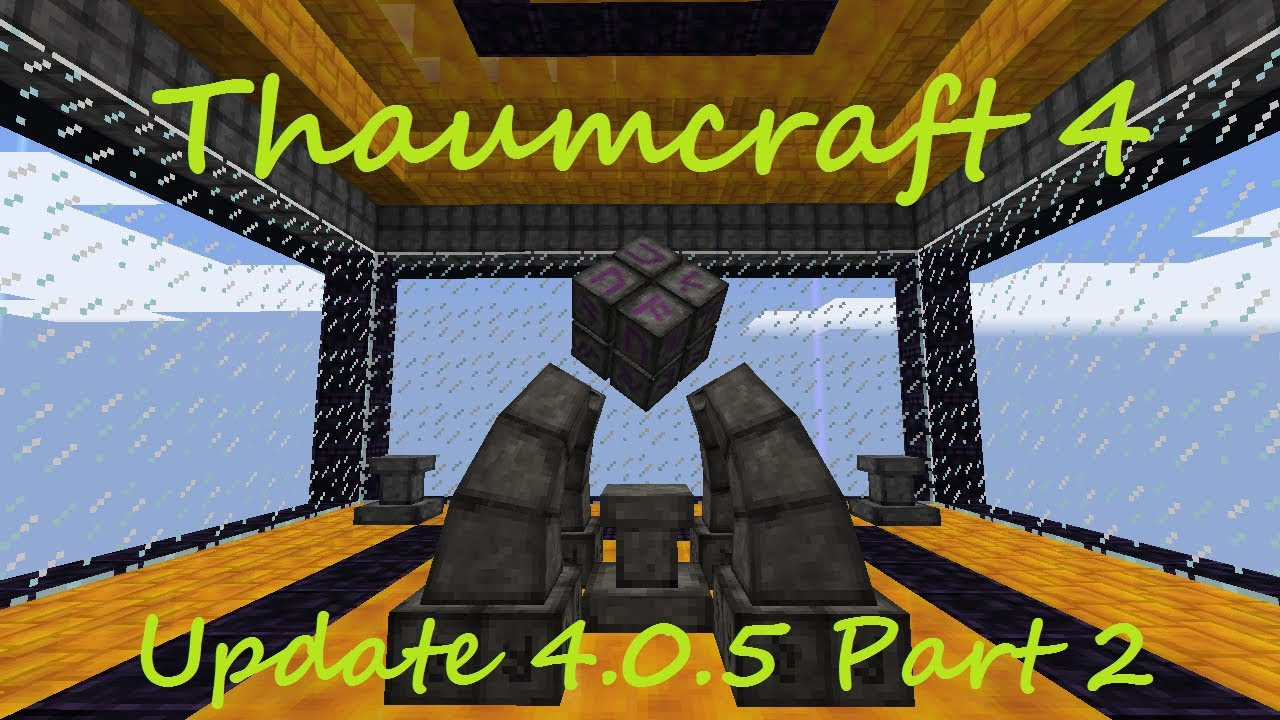 A Guide To Thaumcraft 4 - Part 47 - Lamp of Growth and Traveling ...