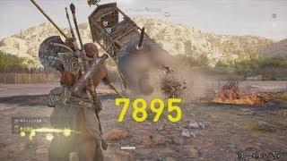【PS4】Assassin's Creed Origins - #38 番外編③ ボス・サラス/Elephant Boss: Surus(Hard No Damage)