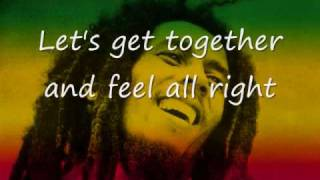 one love-bob marley lyrics