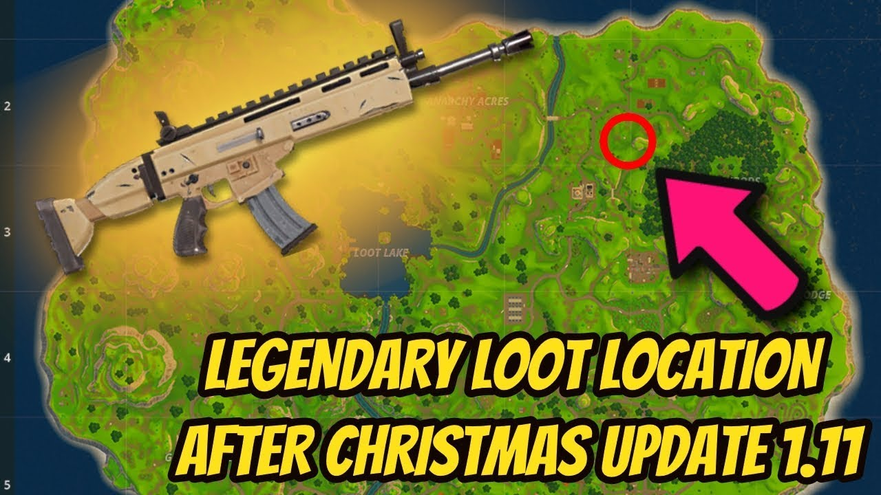 How To Get Legendary Scar Every Time In Fortnite Battle Royale All Chest Locations
