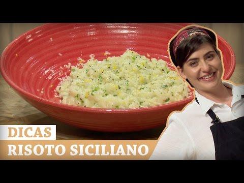 RISOTO DE LIMÃO SICILIANO Com Izabel | DICAS MASTERCHEF