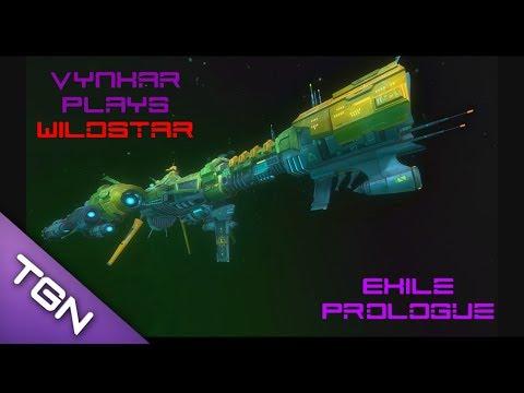 Let's play Wildstar - Exile faction prologue - beta