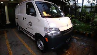 Daihatsu Gran Max 1.3 Blind Van Start Up & Review Indonesia