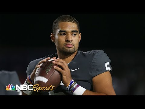 Clemson Commit DJ Uiagalelei Reflects On Journey | All-American Bowl 2020 | NBC Sports