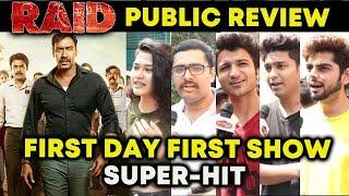RAID PUBLIC REVIEW   FIRST DAY FIRST SHOW   Ajay Devgn, Saurabh Shukla, Ileana D'Cruz