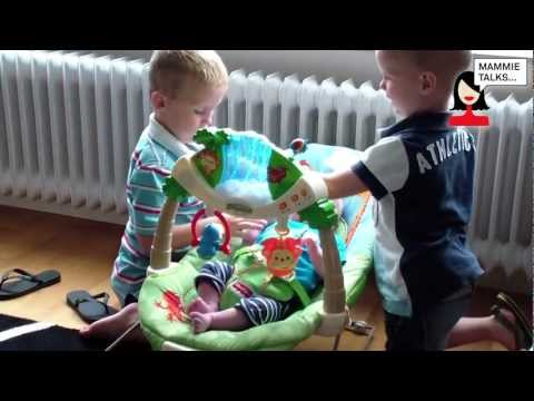 FisherPrice Rainforest Bouncer door Sabine voor Mammietalks