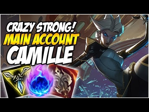 CAMILLE IS CRAZY STRONG! /w Arcane Comet - Climb to Master S8 | League of Legends