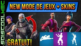 NEXT NEW GAME MODE! NEW AND FREE SKINS! EMOTE PROCHAIN! FORTNITE BATTLE ROYAL!