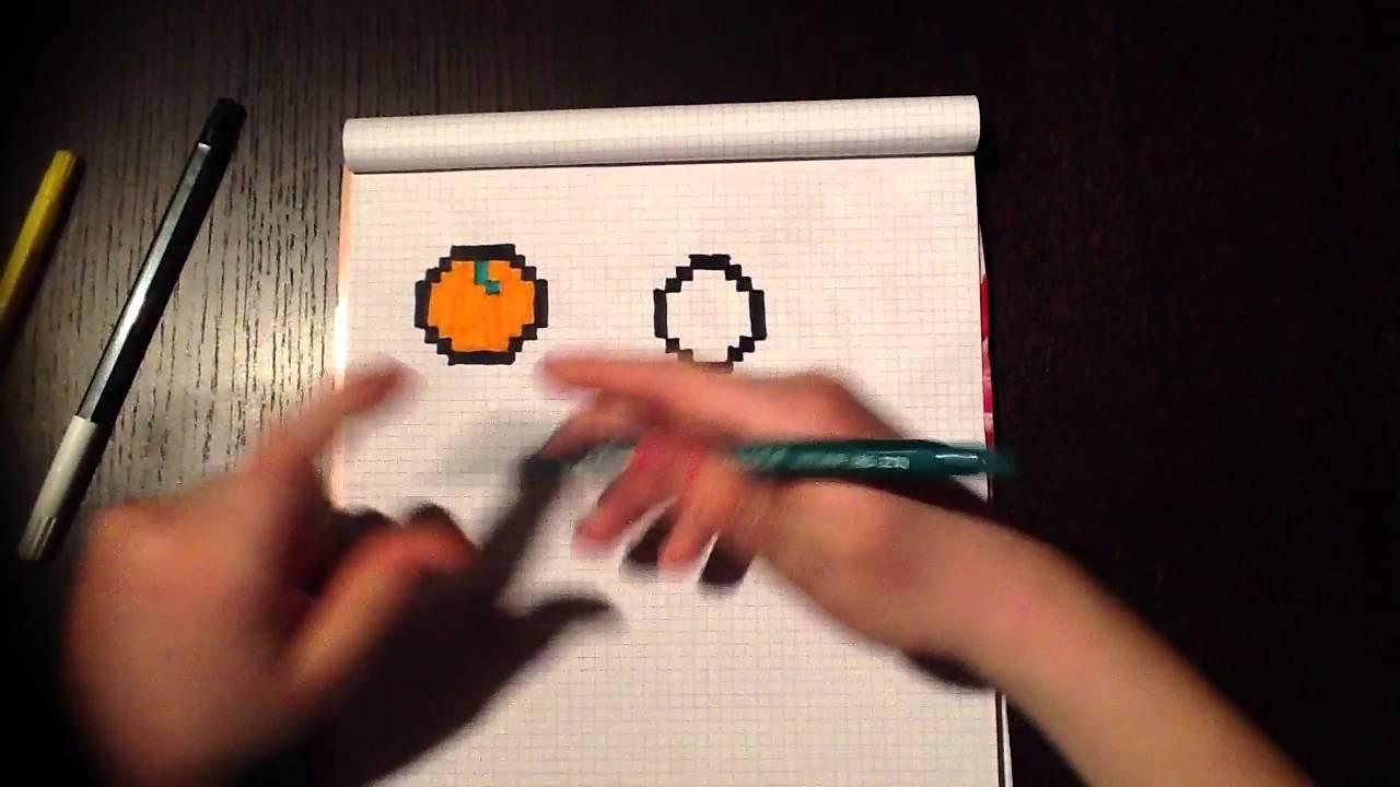 Pixel Art Fruits épisode 2 Le Citron Steve Youtube
