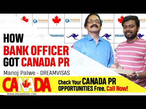 BANKING CAREER IN CANADA! Settle In Canada | Canada PR | WorkVisa | Manoj Palwe