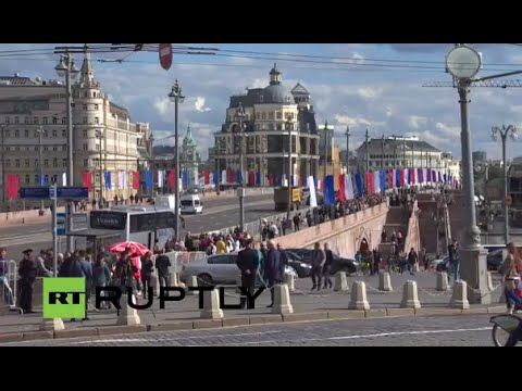 LIVE: Russian opposition to march in Moscow to commemorate Nemtsov