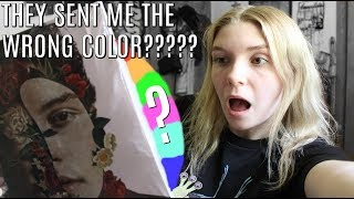 Shawn Mendes Cover II Vinyl UNBOXING (They Sent Me The Wrong Color???) | Olivia Rena