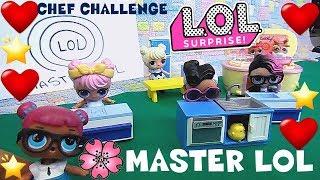 LOL SURPRISE #70 MASTER LOL Chef Challenge Storia By Lara e Babou  e Lele
