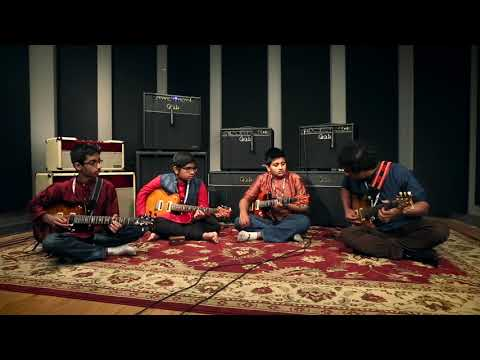 Prasanna and his students visit the factory   PRS Guitars