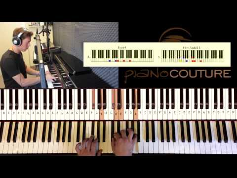 How to Play: Bon Iver - re: stacks | Piano Tutorial by Piano Couture.