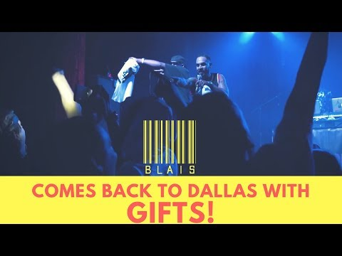 @Blais MOST LIT SHOW EVER! Gives 20+ Jerseys From Industry Pieces To His Fans!! (Dallas Tx)
