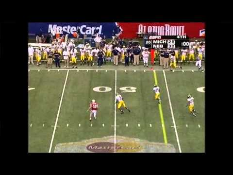 "Valero Alamo Bowl Top 20 Plays - Michigan-Nebraska ""The Game is Not Over Yet"" (2005)"