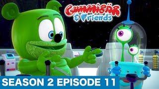 """Gummy Bear Show """"RETURN OF THE ALIEN"""" S2 E11 Gummibär And Friends"""