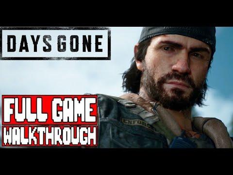 DAYS GONE Gameplay Walkthrough Part 1 FULL GAME - No Commentary (#DaysGone Full Game Walkthrough)