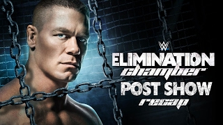 WWE ELIMINATION CHAMBER 2017 PPV Event Results Recap & Review Post-Show