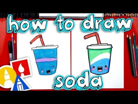 How To Draw Funny Soda