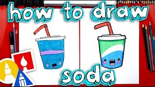 How To Draw Funny Soda