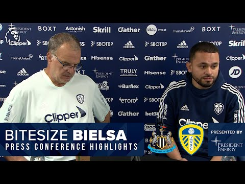 Team news, style of play, Bruce | Marcelo Bielsa press conference | Newcastle United v Leeds United
