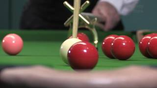 Snooker Accessories - Spider & Swan-Neck Usage -  Full use of table equipment