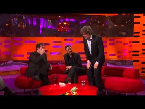 The Graham Norton Show S12E12 Quentin Tarantino, James McAvoy, Alan Davies, Emeli Sande Yo