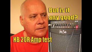 Harley Benton HB-20R Amp Review & Sound Tests