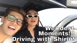 Weirdest Moments Driving with Shirin | Silly Joke