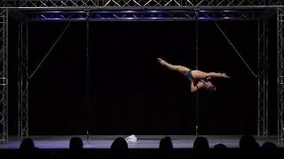 Jen McGrath - Solent Pole & Hoop Competition - Professional Pole Winner