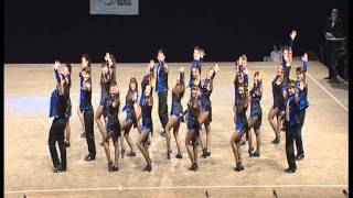 "World Championship tap dance ""THE AVENGERS"" 1PLACE formation adult coreogr. Graziella Di Marco"