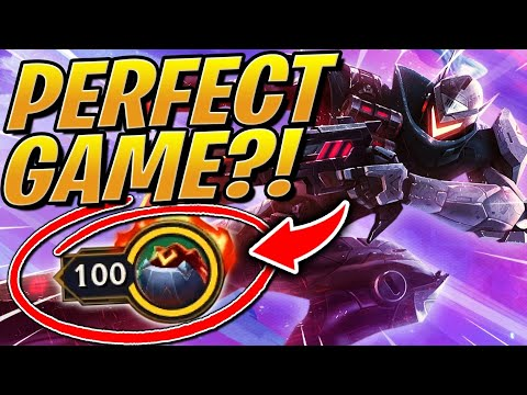 100 HP -THE PERFECT GAME AGAIN?! OP Team In TFT Set 3 Galaxies   Teamfight Tactics League Of Legends
