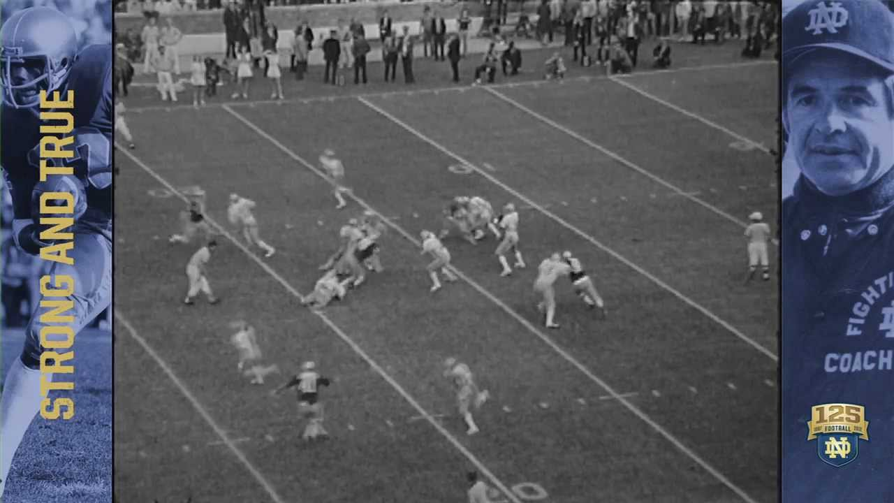 The Real Rudy 125 Years Of Nd Football Moment 084 Youtube