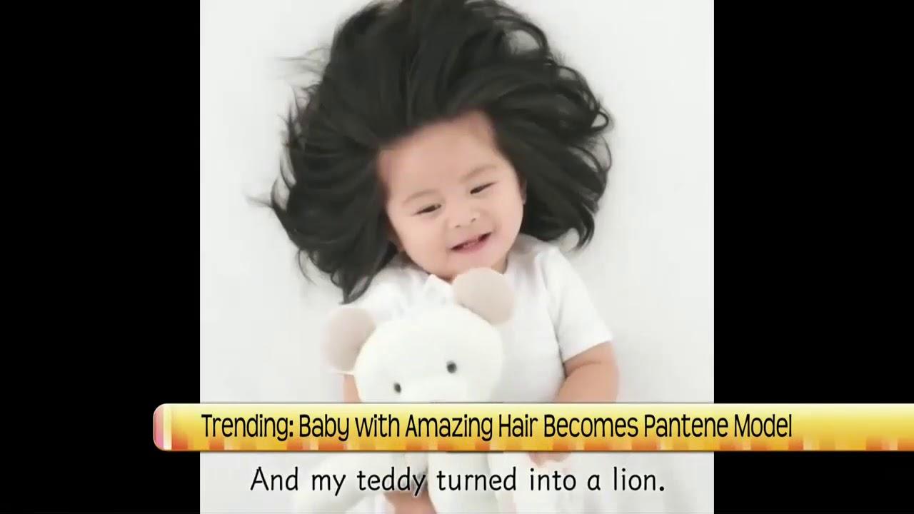 Ndt Baby Chanco Becomes Pantene Model Youtube