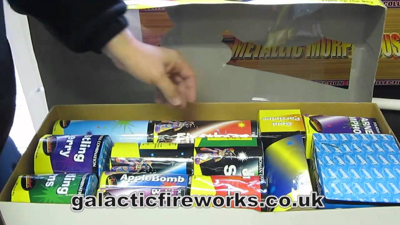 Firestorm Box by Standard Fireworks - From Galactic ...