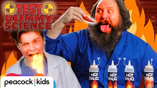 Can You Take the Heat? Spicy Food Experiment | TEST DUMMY SCIENCE